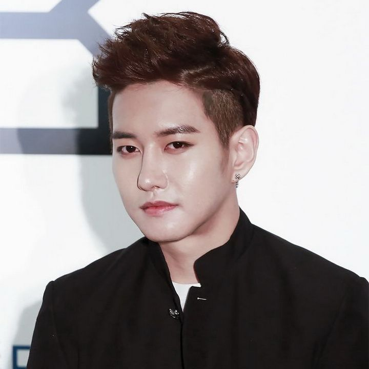 """B-Bomb (Lee Min Hyuk)"" is a South Korean singer and member of hip hop group Block B under Seven Seasons."