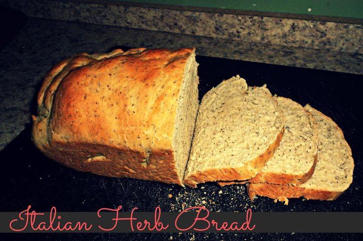 Italian Herb Bread for the bread machine - so yummy!