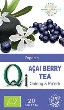 Qi Oolong & Pu-Erh thee met Acai-bes bio - Kruiden kopen en bestellen