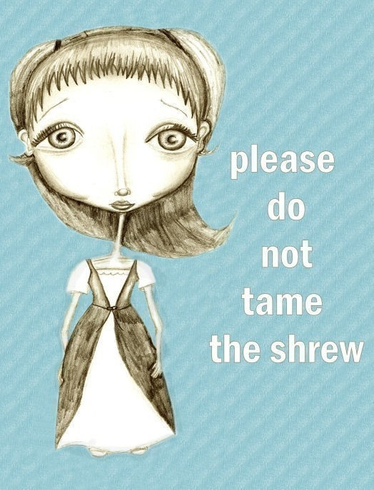 The Taming of the Shrew: 'This is not a woman being crushed'