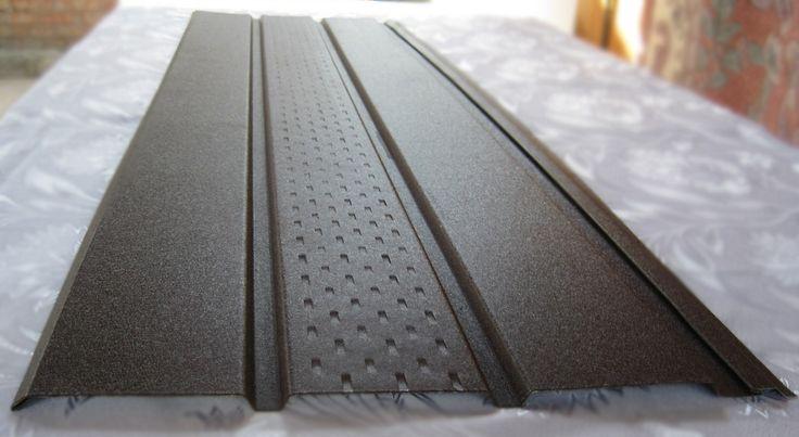 Металлический сайдинг с перфорацией - Софит | TMPGroup — металлический…