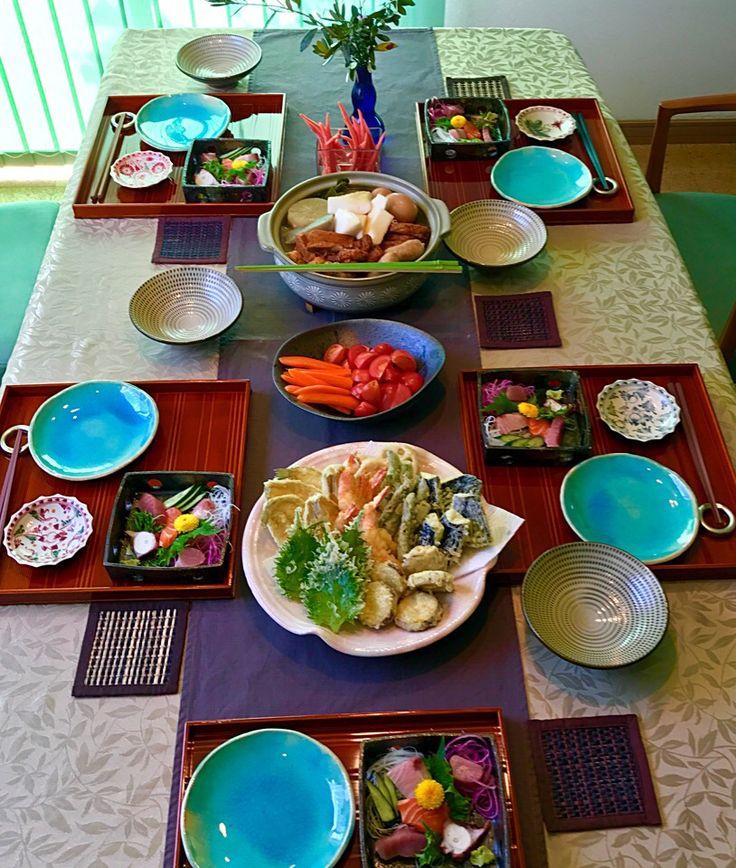 もとぱん's dish photo 女子会ランチ | http://snapdish.co #SnapDish #お昼ご飯 #お刺身/マリネ #揚げ物 #おでん #和食