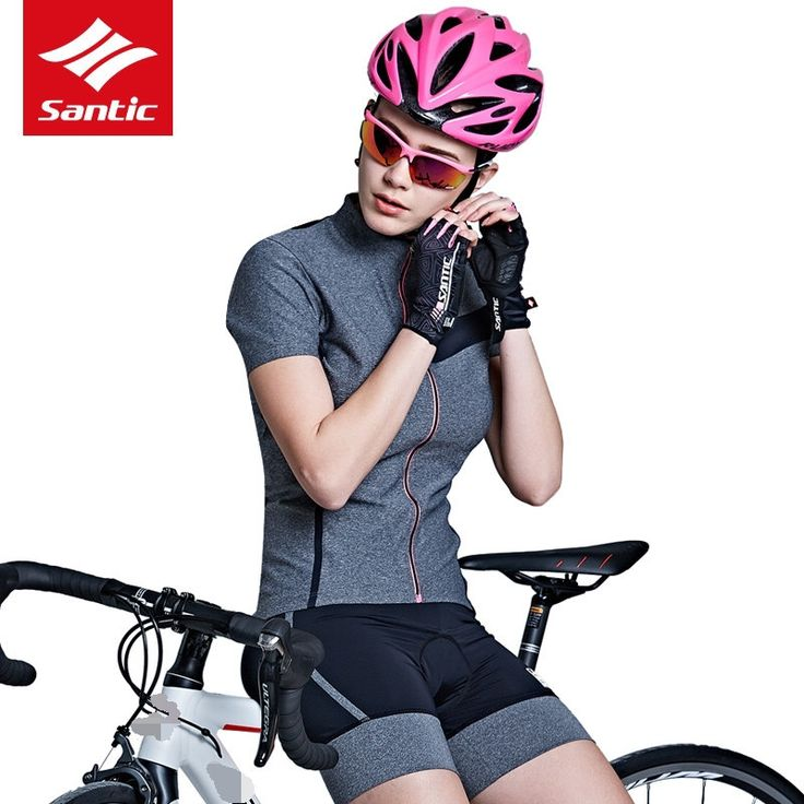Santic Women Cycling Jersey Short Sleeve Jersey Bike Bicycle Clothing Spring Summer Breathable Cycle Wear Shirt High Tech Fabric -- Find out more on AliExpress website by clicking the image