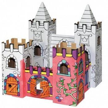 Bygg själv ihop dina egna leksaker och designa dem sen precis hur du vill, bara fantasin sätter gränser! Giftfria leksaker gjorda av återvunnen kartong.