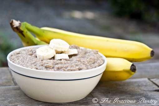 Clean Eating Banana Bread Oatmeal: Clean Eating Recipes, Cleanses, Breakfast, Banana Bread, Healthy, Eating Bananas, Breads Oatmeal, Bananas Breads, Oatmeal Recipes
