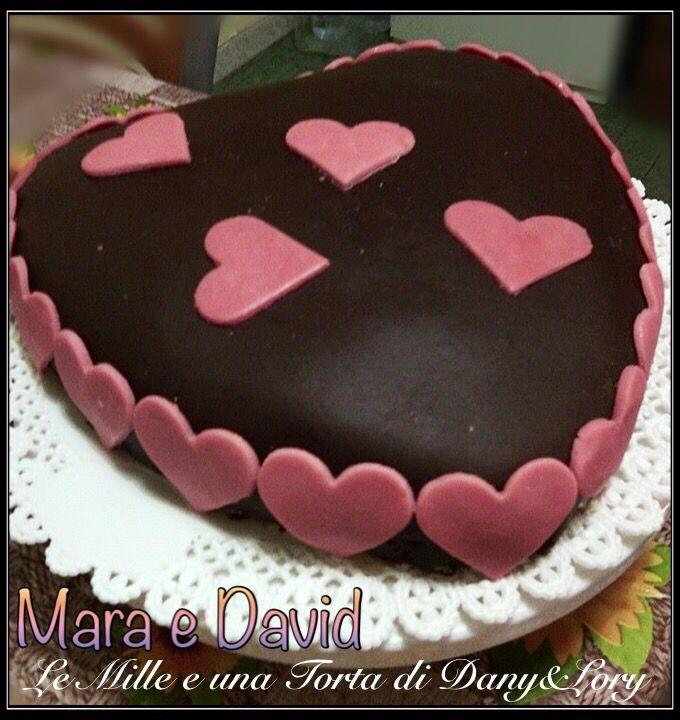 RICETTA DI: MARA E DAVID X i cuori di cioccolato plastico: 100 g di cioccolato bianco-1 cucchiaio di miele-1 cucchiaio d'acqua-zucchero a velo q.b. (circa