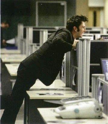 David tennant cubicle
