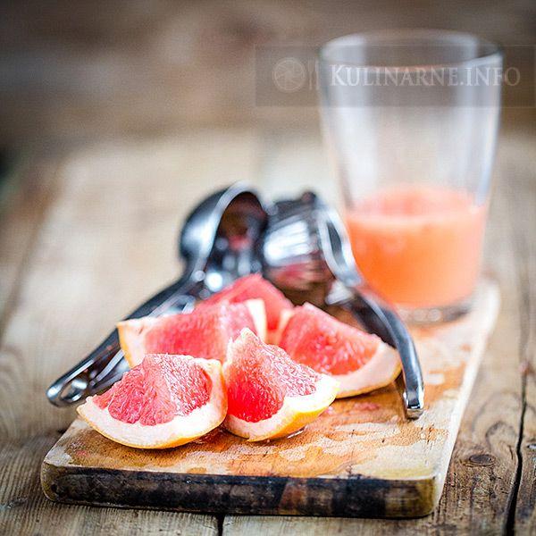 Nalewka z czerwonych grapefruitów