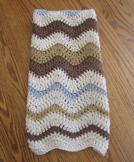 CROCHET N PLAY DESIGNS: Free Crochet Pattern: Lazy Wave Hand Towel