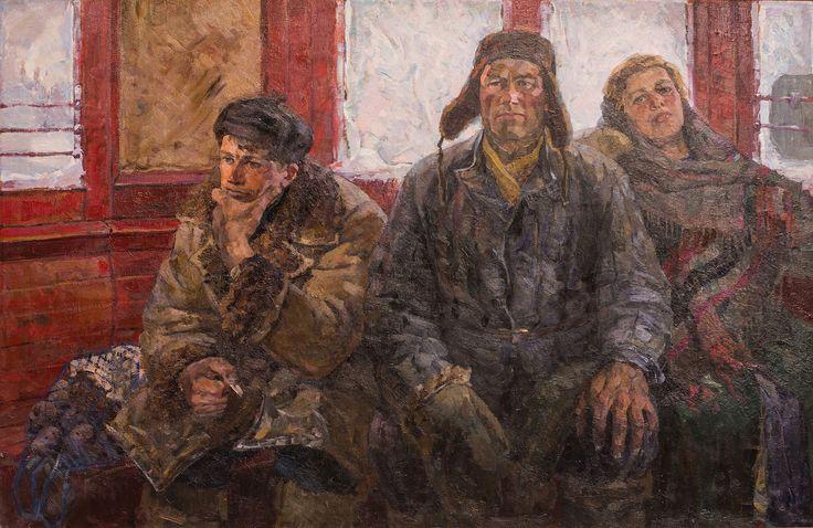 """""""С ночной смены ."""" 1987. =  Габриэлян Рубен Исраэлович"""