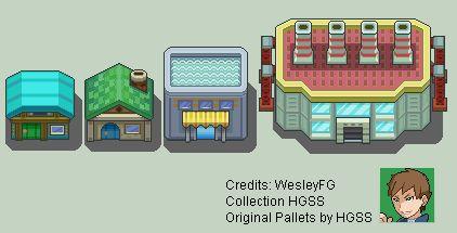 Resultado de imagen de pixel art buildings