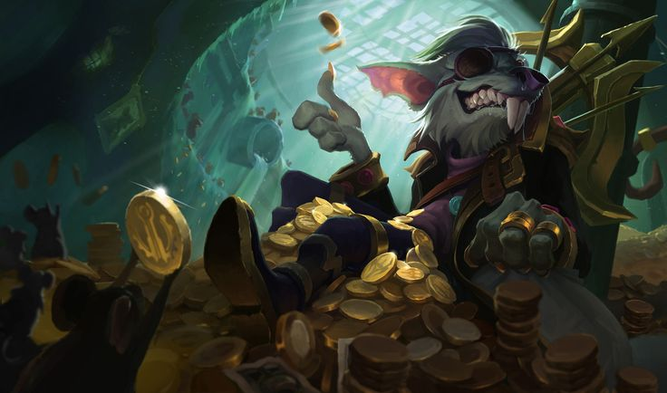 league of legends Kingpin Twitch splash art, xi zhang on ...