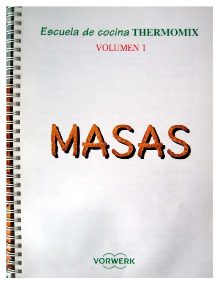 Thermomix masas vol 1 tm21