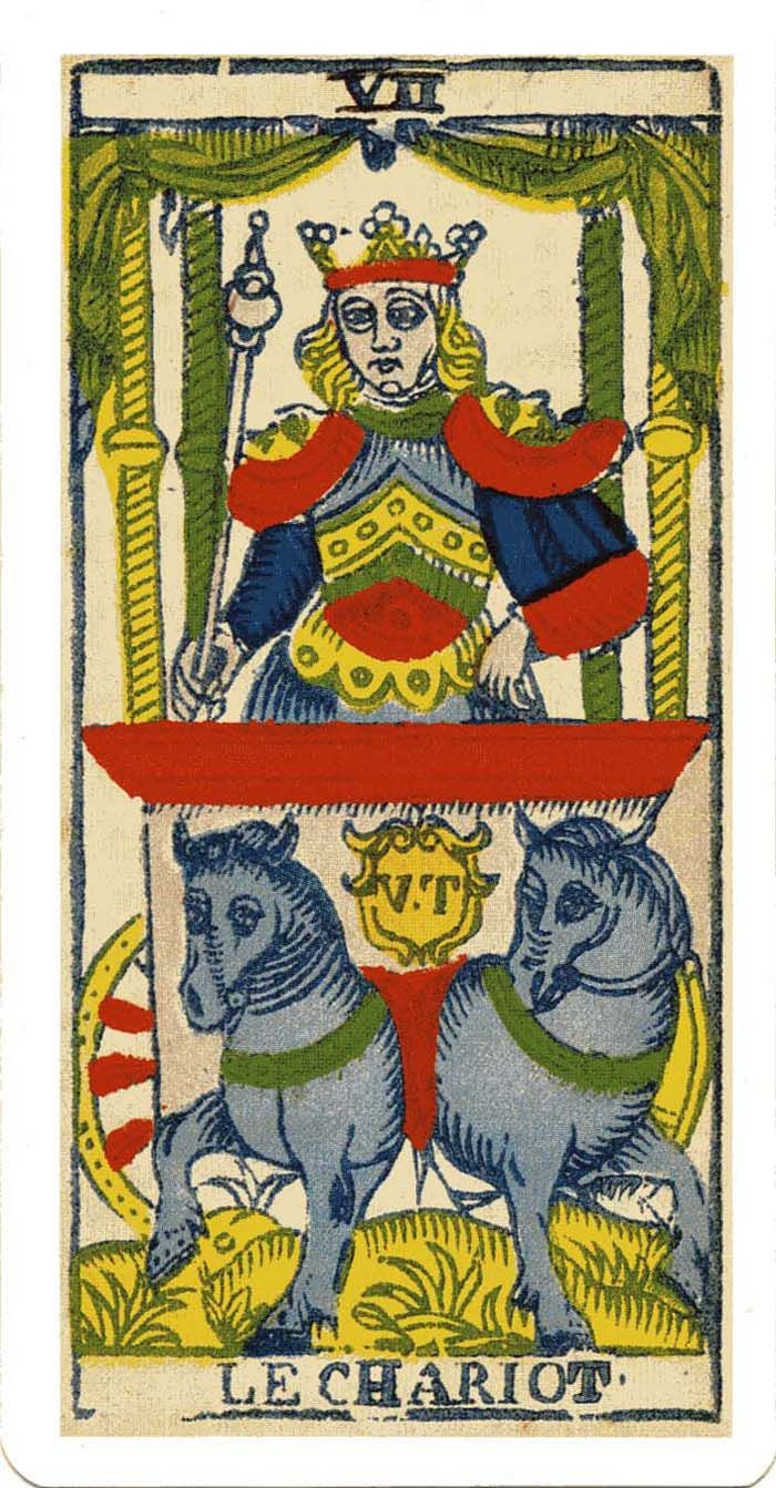 Image result for chariot tarot card