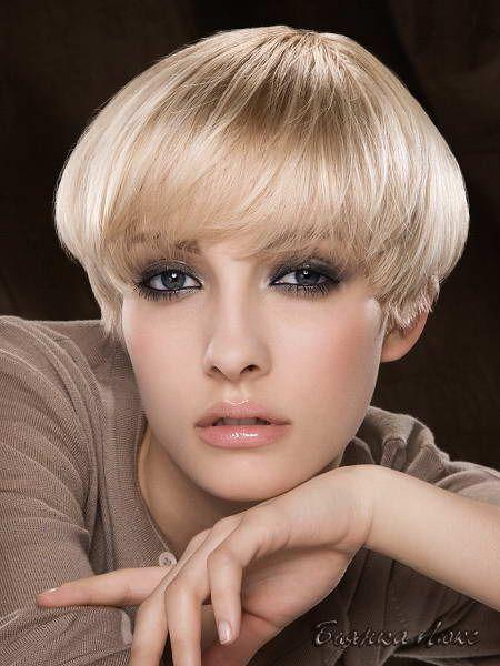 Стрижки и прически для тонких волос 040