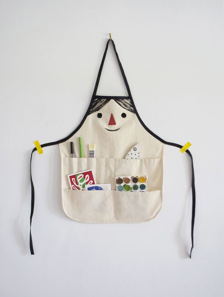 DIY Kids Apron Pattern