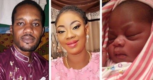 Imprisoned Nollywood Producer, Seun Egbegbe Welcomes Baby Girl with Girlfriend