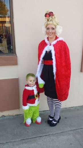Cindy Lou Who and Baby Grinch! 2013