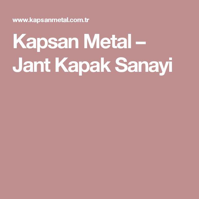 Kapsan Metal – Jant Kapak Sanayi