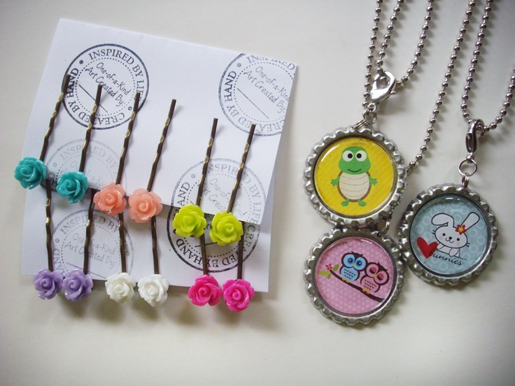 Fun jewelry craft ideas!