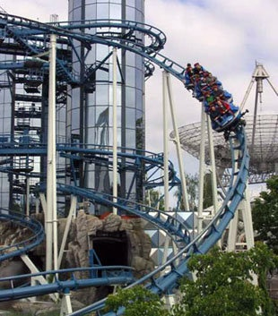 7 roller coasters to ride before I die (actually, I've already ridden 1, so yay! I'm on my way!) :D
