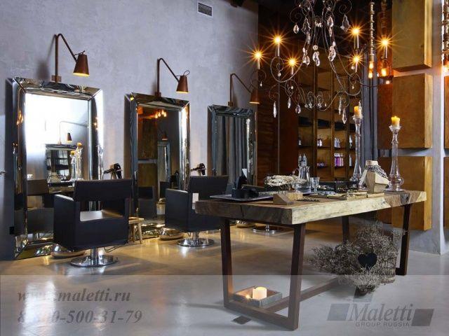 интерьер салона красоты Domenico Castello