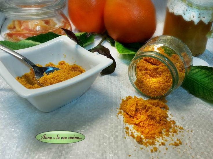 Bucce di arance essiccate