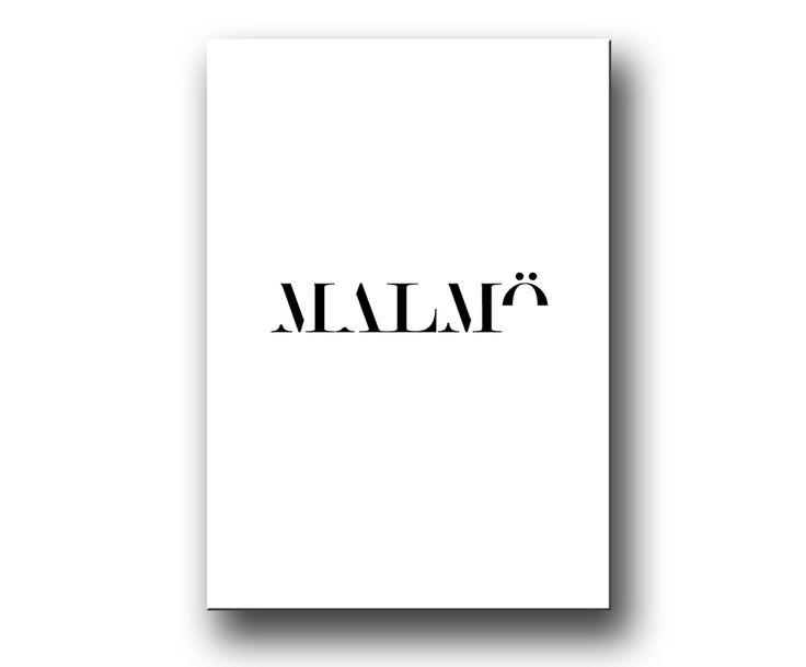 Texttavla Malmö