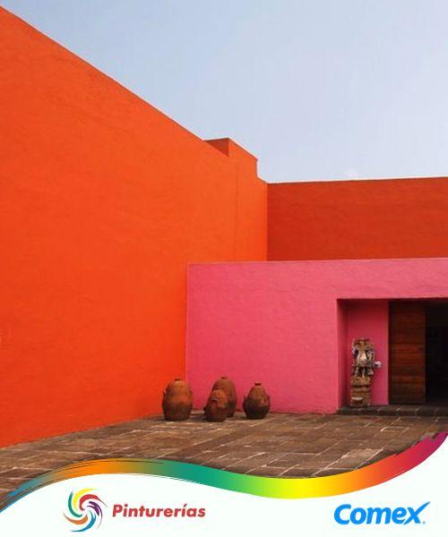 Es una imagen de la casa del talentoso Luis Barragán, afamado arquitecto mexicano reconocido a nivel mundial, destacado por imprimir el sello mexicano en cada una de sus obras.  #InspiraciónComex