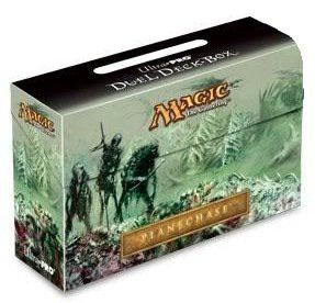 Duel Deck Box - MTG - Plane Chase with Deck Protectors