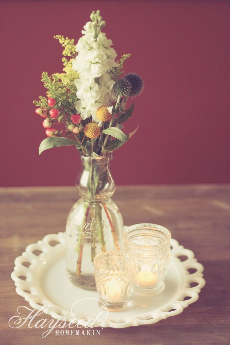 Ideas about milk bottle centerpiece on pinterest