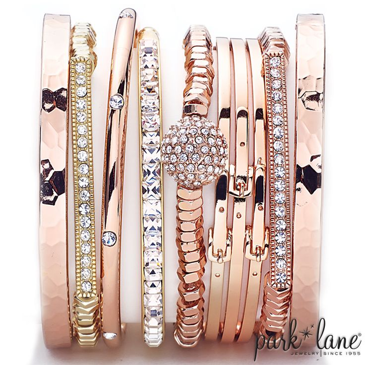 Arm Party!!!  all from Park Lane Jewelry