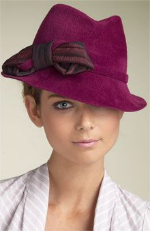 This fall, walking down any block in New York City, you will find stylish fedora hats gracing the heads of women in all age groups.