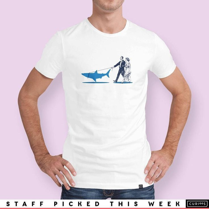 One of my biggest sellers has just been featured on the new range of tees over at @Curioos http://bit.ly/RPS_curioos  #tee #sharkweek #shark #walkingtheshark #vintage instagram   art   ideas   follow