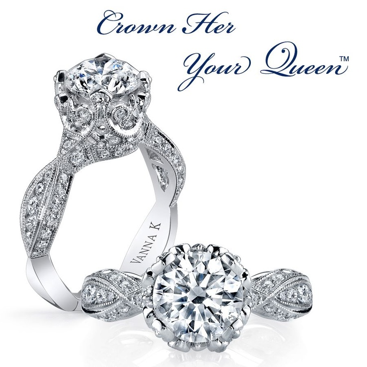 Engagement Rings from Vanna K  available at Armentor Jewelers!  www.armentorjewelers.com: Ceremony Ideas Rings, Diamond Rings, Vanna K, Diamonds Groom, 18Rgl02952Dcz Vannak, Engagement Rings