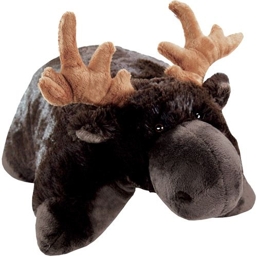 As Seen on TV Pillow Pet, Chocolate Moose This reminds me of my uncle James who lived in Maine