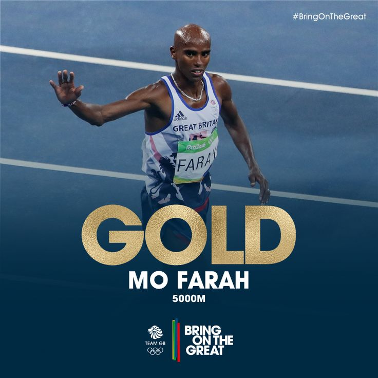 ABSOLUTELY SUPERB!! @Mo_Farah has done the double - #GOLD in the 5000m! No one could respond to that pace 👌 #Rio2016