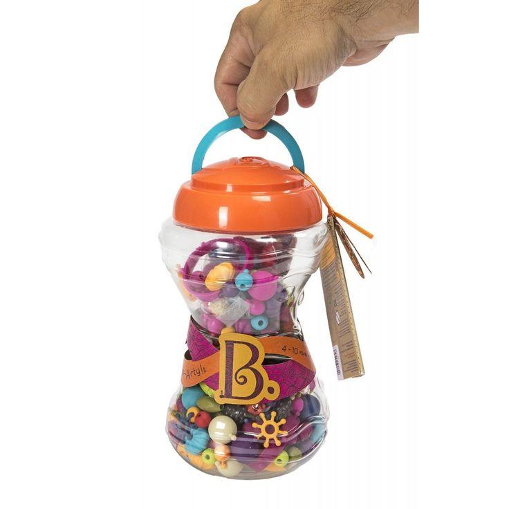 Pop-Arty ékszerkészítő, 300 db-os 4 éves kortól - B.toys