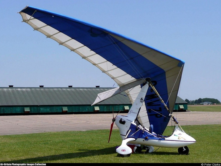 Pegasus Quasar IITC #aviation #aircraft #ga #flexwing #microlight #ultralight single #piston #rotax