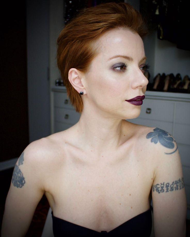 Julia Petit cabelo texturizado com spray de sal e difusor.