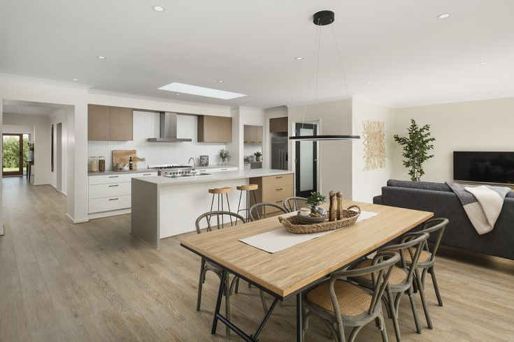 Enjoy open plan living, perfect for the whole family.