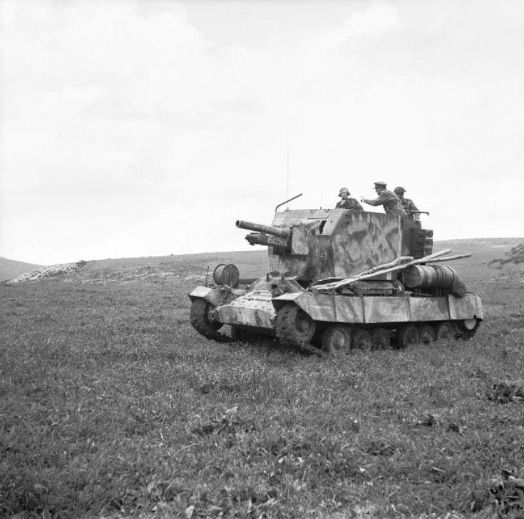Bishop 25-pdr self-propelled gun, 6 March 1943.