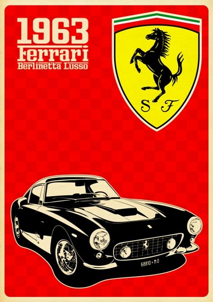 Ferrari Poster www.posterbar.cz