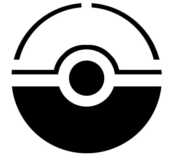 Pokemon Ball Stencil | is all blank and awkward better type some stuff poop poop crap poop ...