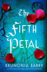 Brunonia Barry signs The Fifth Petal, hosted by Linda Castillo,  Wednesday, March 15, 7-8 PM.