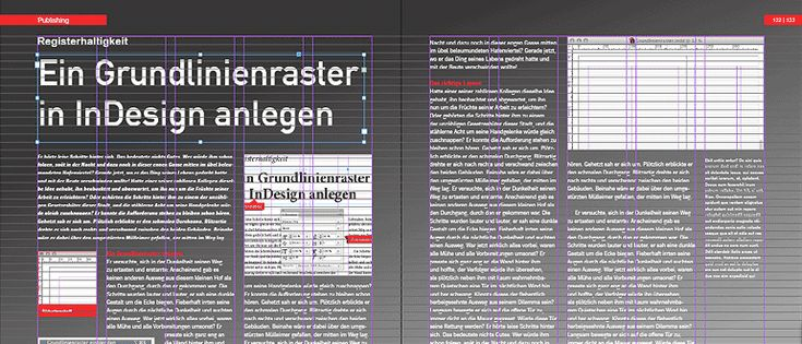 Ein Grundlinienraster in InDesign anlegen