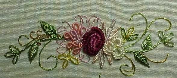 A whimsical Brazilian embroidery design I created