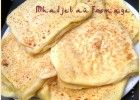 Mhadjeb sauce blanche au fromage