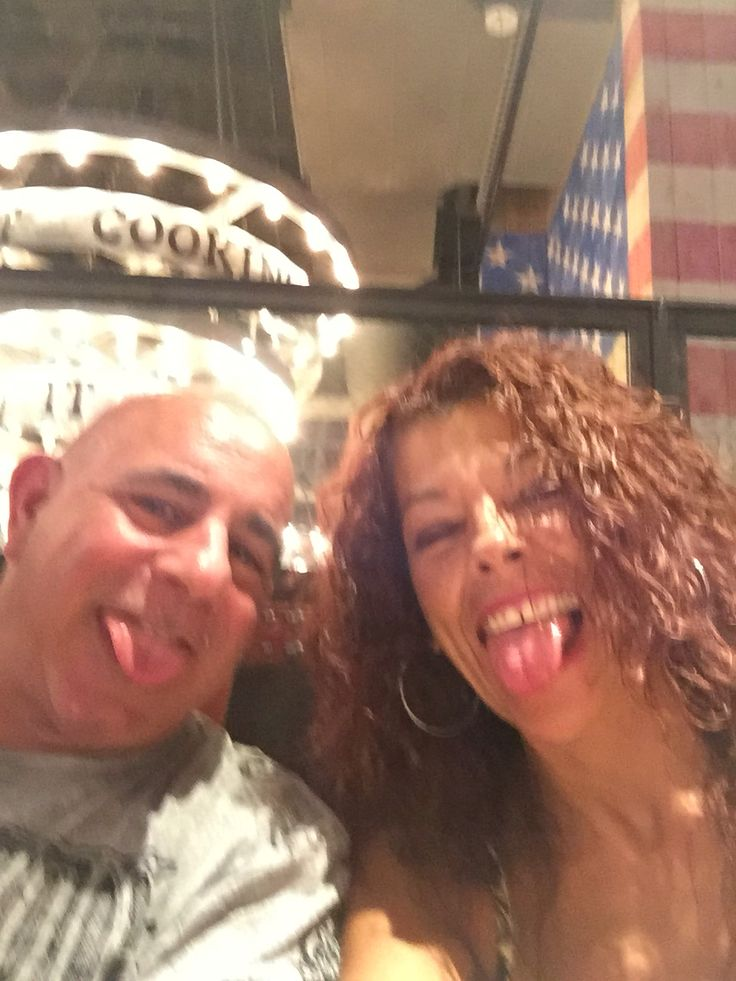 At Guy Fieri's NYC!