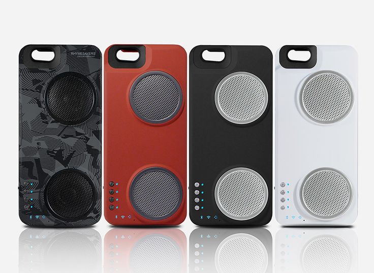 the 'peri duo' iPhone case integrates a hi-definition speaker system and 2500 mAh battery into the design.